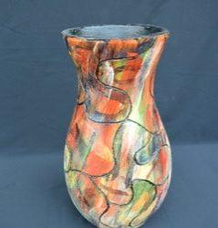 Bunte Vase